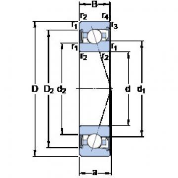 Rodamiento S7002 ACE/P4A SKF