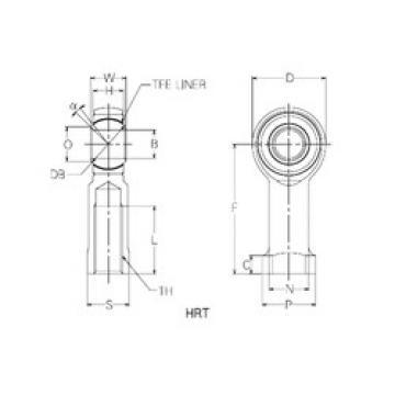 Rodamientos HRT22 NMB