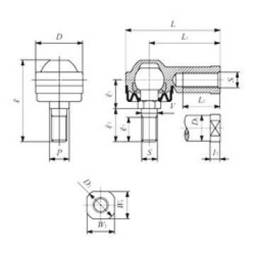 Rodamientos LHSA 8 IKO